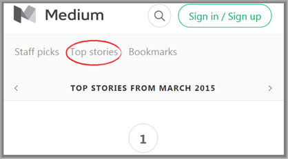 Medium Top Stories